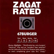 Zagat review